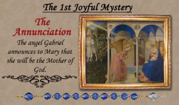 1st Joyful Mystery