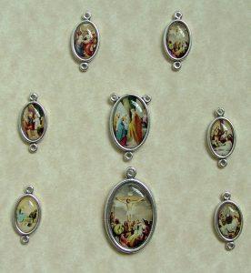 Seven Sorrows Chaplet medals