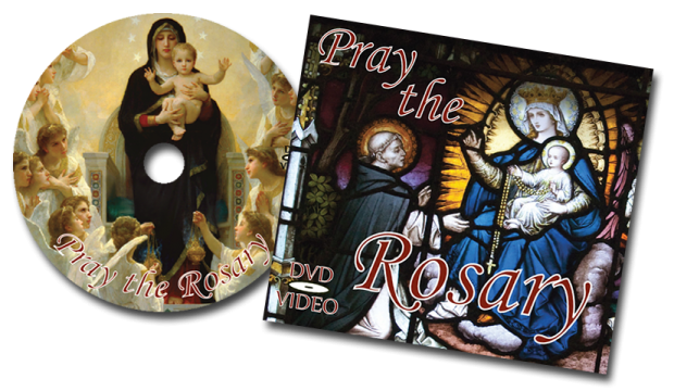 Pray the Rosary DVD and CD