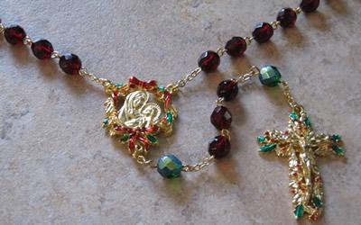 christmas Rosary small