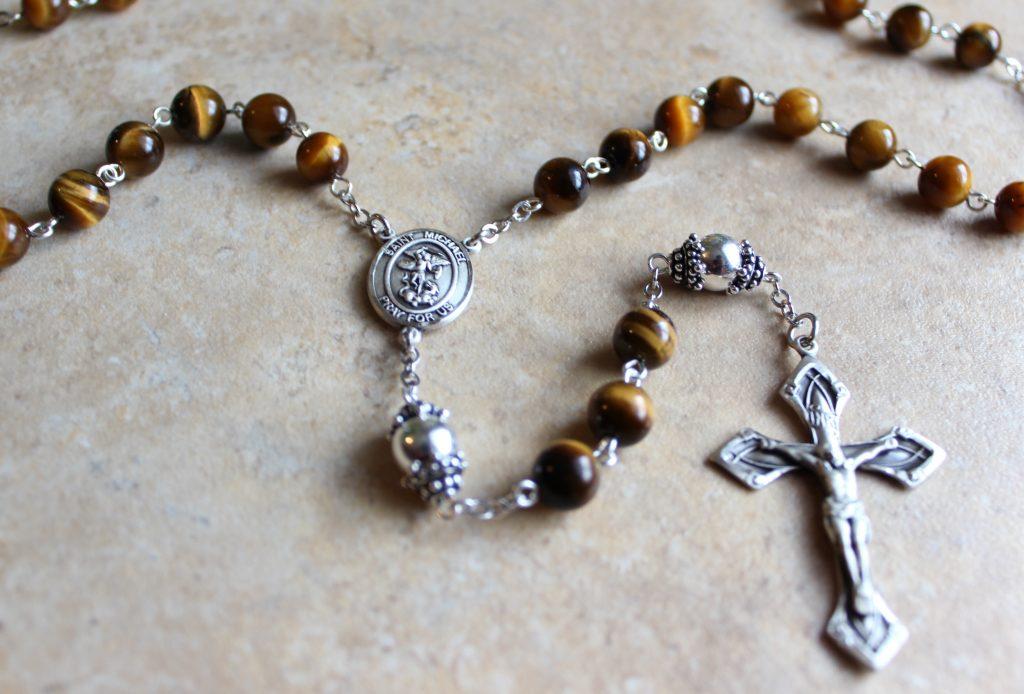 Handmade Sterling Rosary