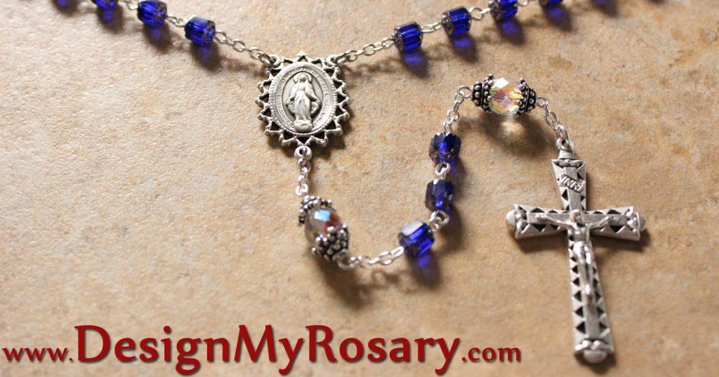 Silver Rosary Handmade