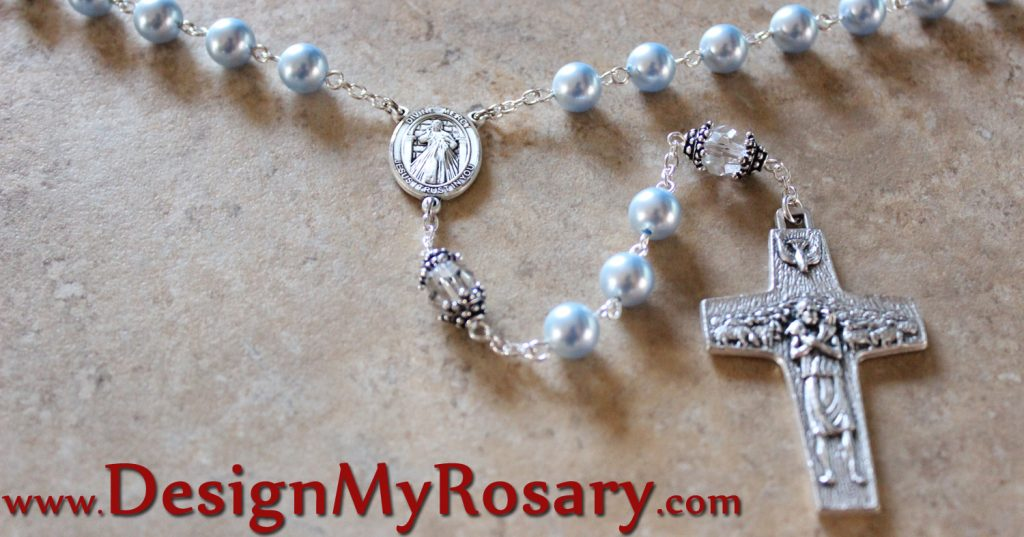 Silver Rosary Divine Mercy